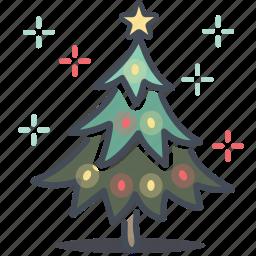 christmas, decoration, holiday, holidays, tree, x-mas, xmas icon
