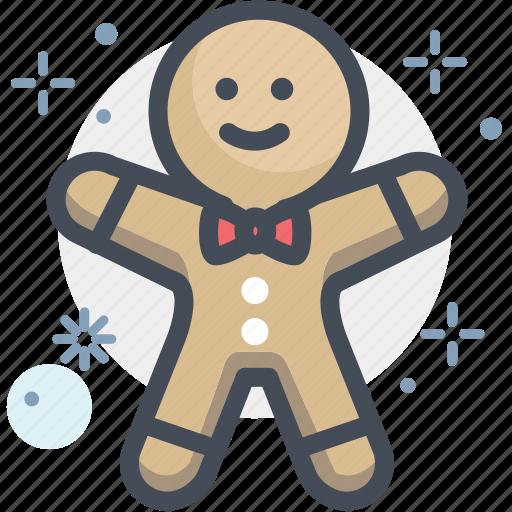 baking, christmas, gingerbread, gingerbread man, pastry, xmas icon
