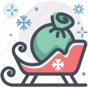 celebration, christmas, santa, santa claus, snow, winter, xmas icon