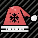 christmas, cloth, hat, santa, wear, winter, xmas