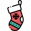 christmas, cloth, decoration, socks, wear, winter, xmas