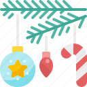 ball, bulb, candy, christmas, decoration, ornament, winter icon