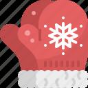 christmas, cloth, gloves, snowflake, wear, winter, xmas