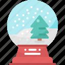 ball, christmas, decoration, gift, snow, snowball, winter