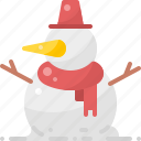 christmas, decoration, new year, snow, snowman, winter, xmas icon
