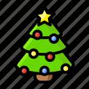 christmas, tree, decoration, gift, holiday, present, santa