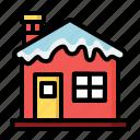 house, snow, building, christmas, home, winter, xmas