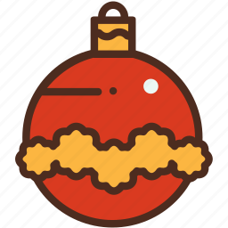 ball, christmas, decoration, holiday, winter, xmas icon