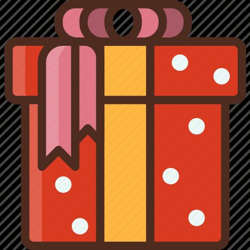 box, christmas, decoration, gift, holiday, present icon