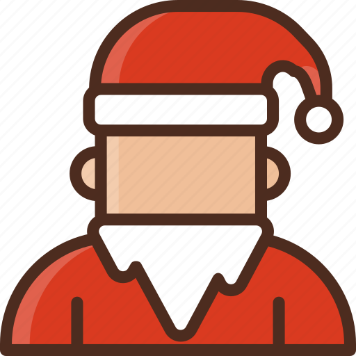 avatar, christmas, claus, decoration, holiday, santa, winter icon