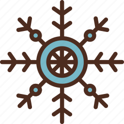 christmas, decoration, holiday, snowflake, winter, xmas icon