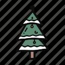 christmas, decoration, doodle, nature, pine, tree