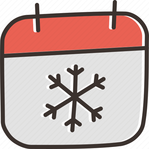 calendar, christmas, date, day, december, festival, new year icon