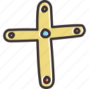 christian, christianity, cross, jesus icon