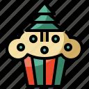 baker, bakery, christmas, dessert, food, sweet icon