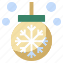 ball, bauble, birthday, christmas, decoration, ornament, party, shapes, xmas icon