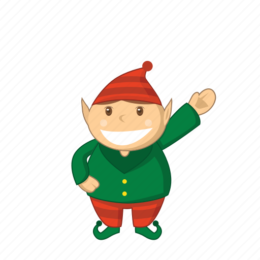 cartoon, christmas, elves icon