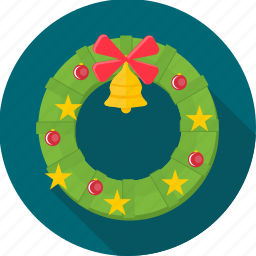 bell, christmas, decoration, jingle bell, party, santa, xmas icon