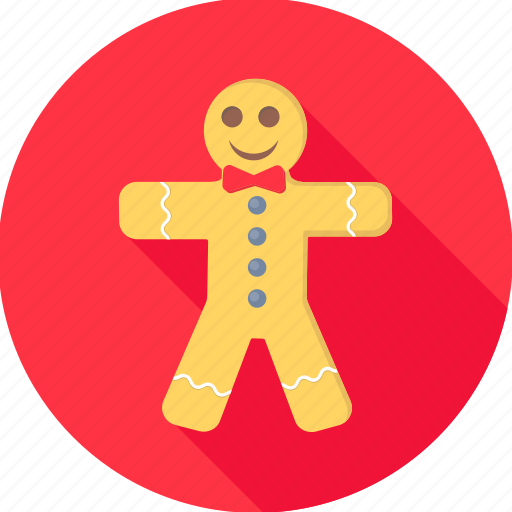 biscuit, character, christmas, cookie, happy, merry, xmas icon