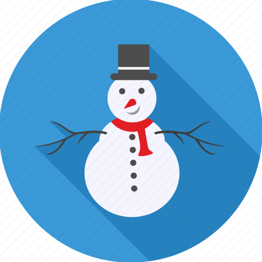 celeberation, christmas, decoration, hat, party, snowman, xmas icon
