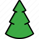christmas, christmas tree, decoration, gift, nature, pine, tree icon