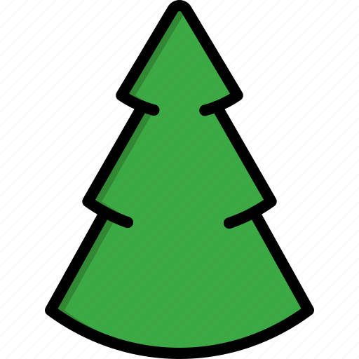 christmas, christmas tree, decoration, gift, nature, pine, tree icon