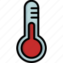 christmas, cold, measure, snow, temperature, thermometer, winter icon