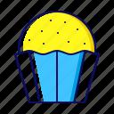 bakery, cake, cupcake, dessert, muffin icon