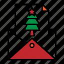 card, christmas, greeting, message, christmas icon