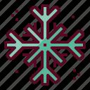frost, snow, snowflake, winter, christmas icon