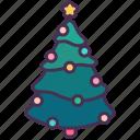 christmas, decoration, holiday, new year, pine, star, tree