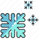 cold, nature, snow, snowflake, weather, winter icon