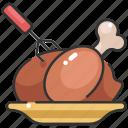 chicken, christmas, dinner, food, roast chicken, thanksgiving, turkey icon