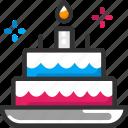 cake, celebration, christmas icon