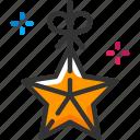 celebration, decoration, new year, star icon