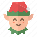 3, christmas, elf, fairy, santa, santa claus, xmas icon