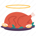 chicken, christmas, food, holiday, new year, thanks giving, turkey
