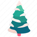 tree, holiday, snow, new year, decoration, pine, christmas