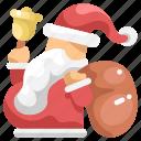 avatar, bag, christmas, gift, santa, santa claus, xmas