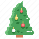 christmas, christmas tree, forest, nature, trees, woods icon