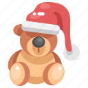 bear, children, christmas, fluffy, puppet, teddy, teddy bear