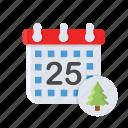 calendar, celebration, christmas, date, xmas
