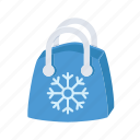 christmas, sale, shop, shopping, snow, winter icon
