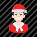 avatar, boy, christmas, male, man, xmas