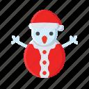 christmas, snow, snowman, winter, xmas