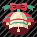 alarm, alert, bell, christmas, jingle, xmas icon