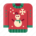 christmas, holiday, sweater, winter, cloth