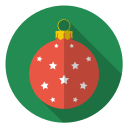 bulb, christmas, holiday, stars, tree, winter, xmas icon