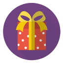 christmas, gift, holiday, present, red, surprise, xmas icon