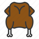 chicken, christmas, food, meat, turkey icon
